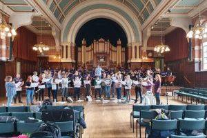 Proms Concert Rehearsal